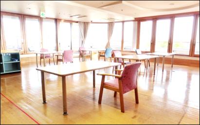 東フロア食堂レクリエーション室