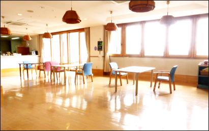 西フロア食堂レクリエーション室